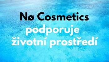 no cosmetics podporuje životní prostředí